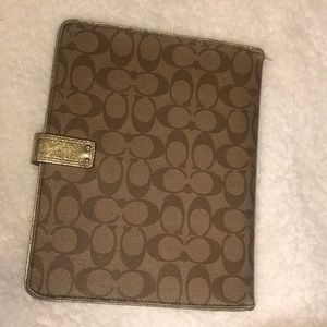 Coach Accessories - Coach IPad case used